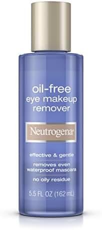 Neutrogena Oil-Free Eye Makeup Remover, 5.5 Fl. Oz