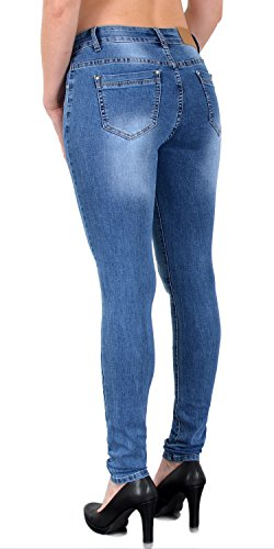 Femmes Skinny Pantalon Basse tex J375 Jean Taille by S500 Femme Stretch Taille Haute Jeans q1Iz4tx