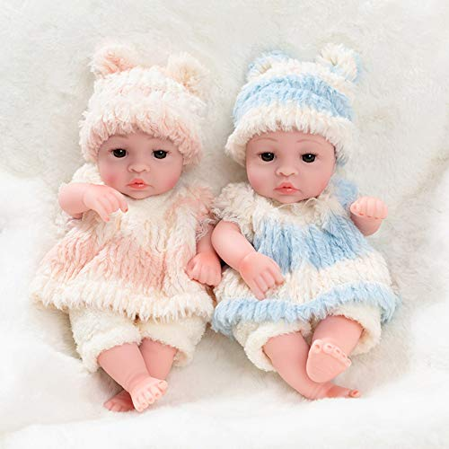 (Rocking Horse Soft Silicone Reborn Baby Dolls,Fun Nurturing Doll,Soft Fabric New Born Baby Doll - Girl/Boy)