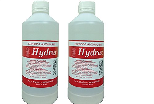 UPC 021599412340, Hydrox Alcohol 99% Isopropyl Pint 16 oz Pack 2