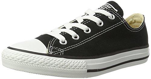 Converse - All Star Ox Canvas G2, Zapatillas  Unisex adulto, Negro (Black), 34 EU