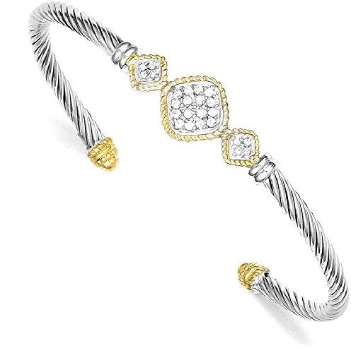 Stackable Vermeil Bracelet - 3