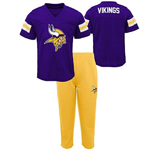 NFL by Camp Outerstuff Infant Months NFL Minnesota Vikings Infant Training Camp Short Sleeve Top & Pant Set Regal Purple,18 Months [並行輸入品] B07H962DQ3, エルショップ:a37a0040 --- infinnate.ro