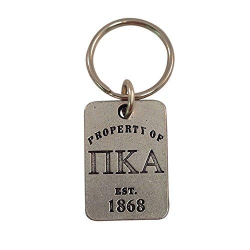 Pi Kappa Alpha Property of Keychain Metal Pike (Kappa Alpha Key Ring)