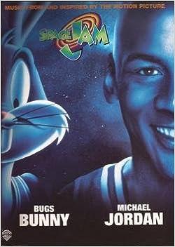 Amazon Com Space Jam Michael Jordan Bugs Bunny Piano Vocal Guitar