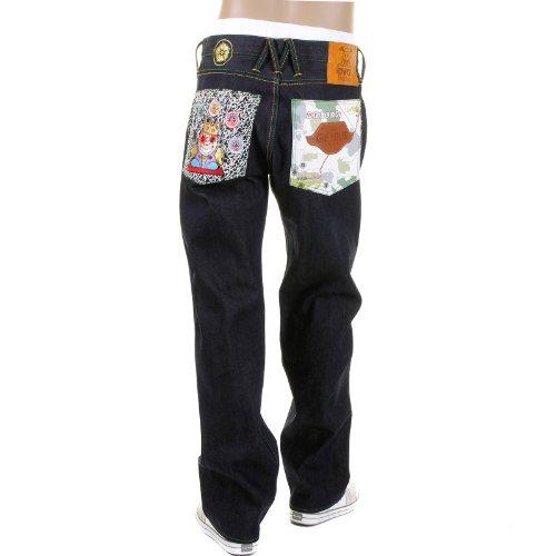 Yoropiko X Greedy Genius Limited Edition denim jeans YORO5816
