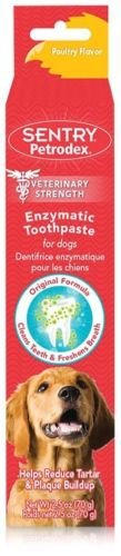Sentry HC Petrodex Enzymatic Toothpaste Dogs Poultry Flavor 2.5 oz by Sentry