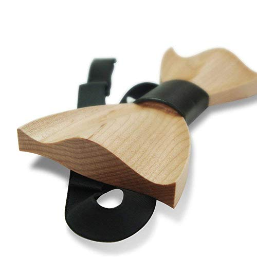 Wooden Bowtie Wood Tie Walnut Adjustable Style Handmade Men's Strap With Bow Color 3 Maple 3 qgE4Xxt