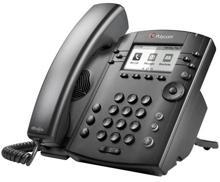 Polycom VVX 310 Business Edition for Skype - 2200-46161-019 (Certified Refurbished) by Polycom