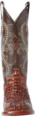 Ferrini Donna Stampa Coccodrillo S-toe Western Boot Sport Ruggine