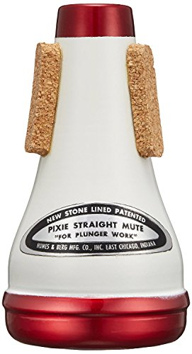 Humes & Berg Stonelined Series Pixie Brass Mute for Trumpet-All Metal (112) from Humes & Berg