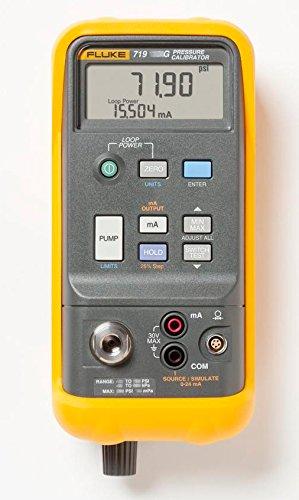 Portable Pressure Calibrators (Fluke 719 30G Electric Pressure Calibrator, 30 PSI, 2 Bar, 8.28