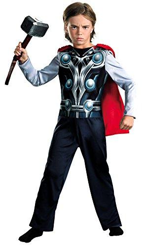 Boys - Thor Avengers Basic Kids Costume 4-6 Halloween Costume -