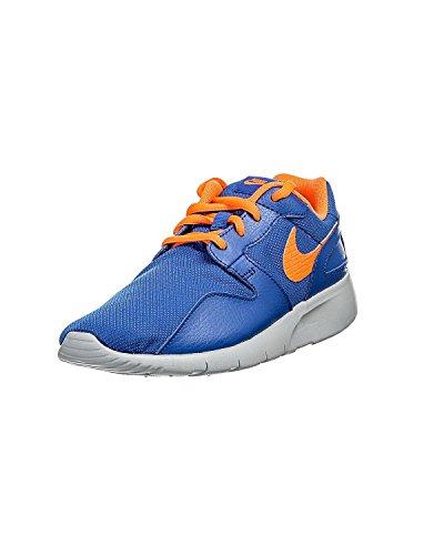 Nike Youths Kaishi Leather Trainers Azul / Naranja