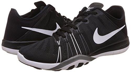 De Zapatillas Tr black 6 Grey cool Para Gimnasia White Negro Mujer Nike Wmns Free fvqIwxccEX