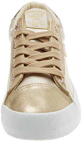 Zapatillas Dorado Dorado Champagne Glisten para Deporte City Crack Oro MTNG Rolling de Mujer Golden Y4qx6P5