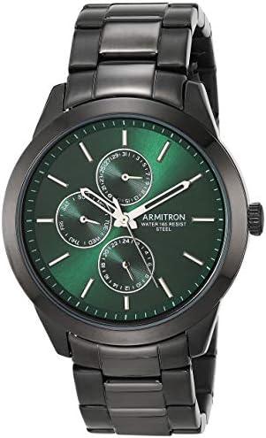 Armitron Black Men's Multifunctional Bracelet Watch, 20 / 5435GNTI