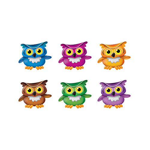 Trend Enterprises Inc. Bright Owls Mini Accents Variety Pack, 36 ()