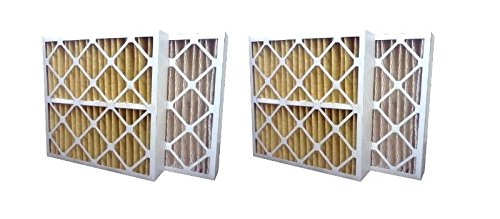 (2 Air Filters for Aprilaire Spacegard 2200 201 2400 401)