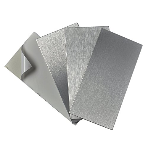 Stainless Steel Backsplash Tiles - 5