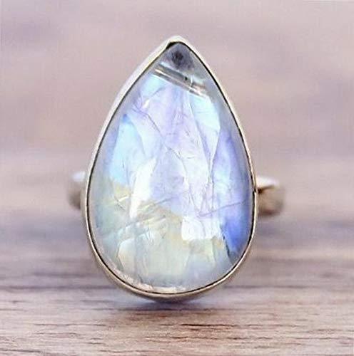Crookston 1.12ct White Topaz Sapphire Woman Men 925 Silver Wedding Ring Gift Size 6-10 | Model RNG - 15324 | 7