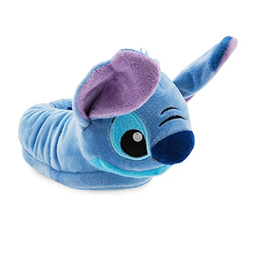 Disney Stitch Slippers for Kids - Lilo & Stitch,Blue,11/12 YTH]()