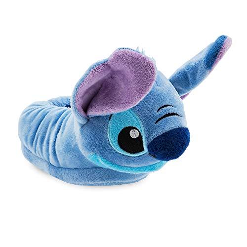 Disney Stitch Slippers for Kids - Lilo & Stitch,Blue,11/12 YTH