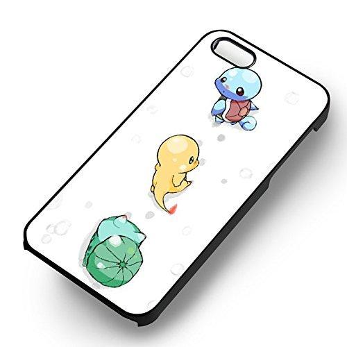 Cuties Pokemon Cartoon pour Coque Iphone 6 et Coque Iphone 6s Case (Noir Boîtier en plastique dur) M4V5DB