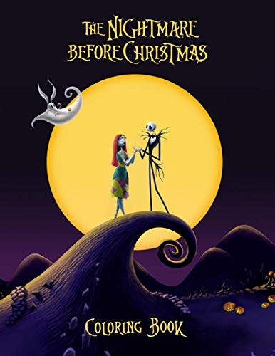 The Nightmare Before Christmas Coloring Book: High Quality