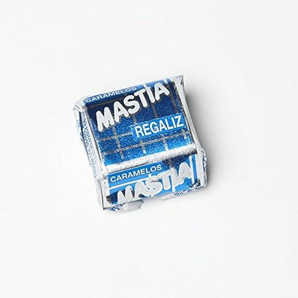 Mastia Caramelo masticable sabor Regaliz 1 Kg: Amazon.es ...