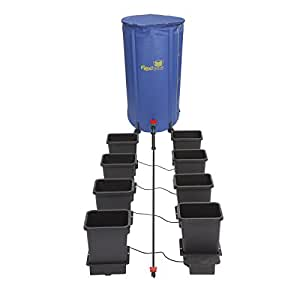 Autopot Complete Hydroponics Self Watering System Plant/Flower Flexitank & Kit 8 Pot W/ 100L Flexitank