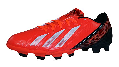 adidas F5 TRX FG Mens Soccer Boots/Cleats-Red-8