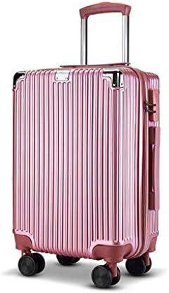 BXDYA 結婚や短期旅行用TSAロック付4スピナーホイールビジネストラベルスーツケースとアルミフレームの荷物 (Color : C)