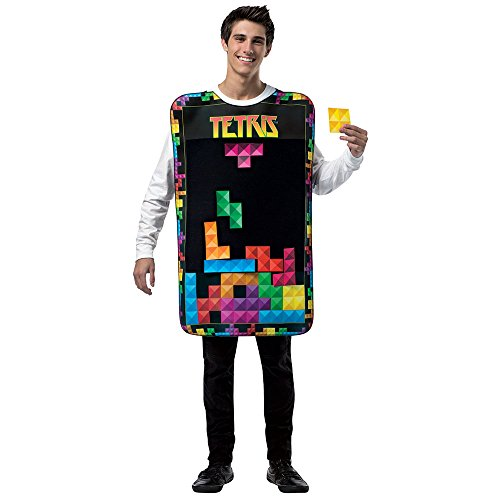 Mens Tetris Interactive Game Costume