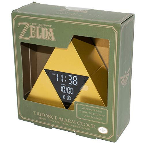 Paladone Legend of Zelda Officially Licensed Product - Triforce Alarm Clock