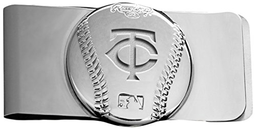Rawlings Sports Accessories Wallet (MLB Minnesota Twins Engraved Money Clip)