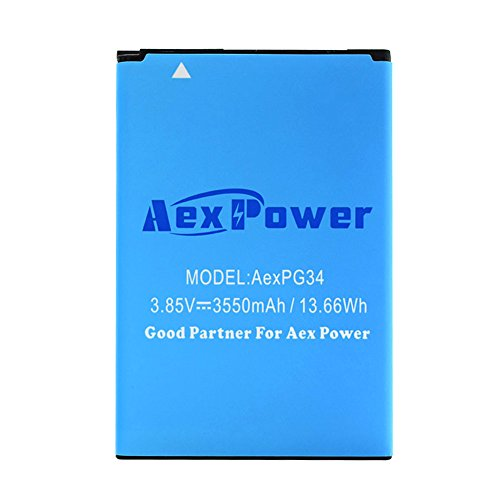 AexPower LG G4 Spare Battery | 3550mAh Extended Slim Replacement Battery for LG G4 G 4 H810 H811 H815 VS986 F500 US991 BL-51YF Phone [18-Month Warranty]