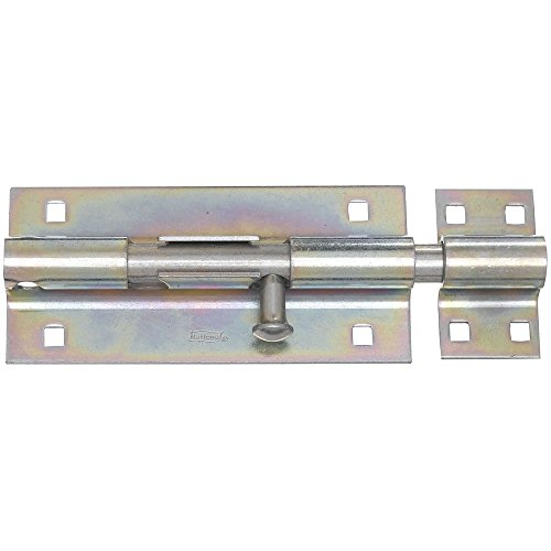 - National Hardware N151-167 V832 Extra Heavy Barrel Bolt in Zinc plated