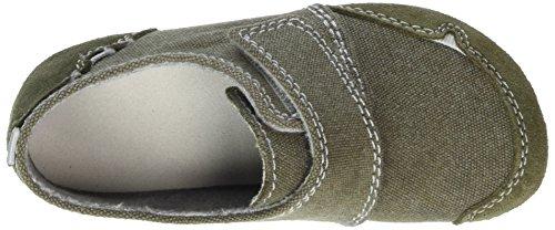 Living Kitzbühel Klettmodell Jeans - Zapatillas de casa Niños verde (caqui)