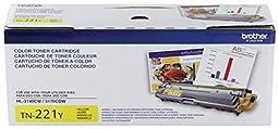 Brother Printer TN221Y Standard Yield Yellow Toner Cartridge
