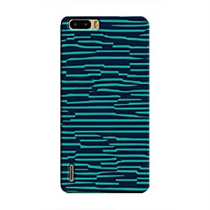 Cover It Up - Dark Teal Wood Honor 6 PlusHard Case