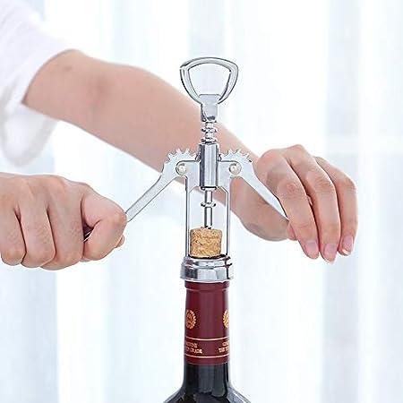 Sacacorchos para vino, abridor de botellas de vino, abridor de vino de alta calidad en diseño moderno, para sumilleros, camareros y barman