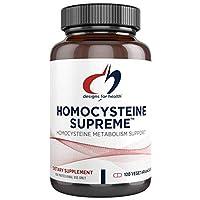 Designs for Health Homocysteine Supreme - Methylation + Homocysteine Support with...