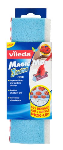 Vileda Magic Mop Refill - Pack of 2