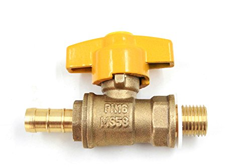 (DEF F-106N Engine Oil Drain Valve with Long Nipple and 14mm-1.5 Thread for High Ground Clearance Truck or SUV)
