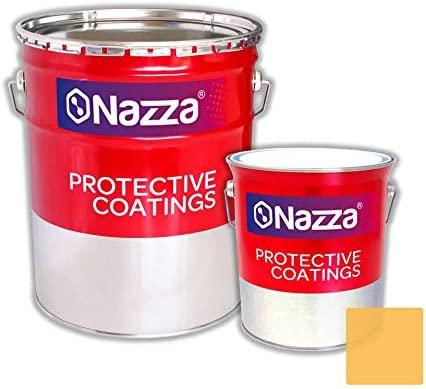 Pintura Epoxi Bicomponente Alimentaria ENSAYADA Nazza | Apta para estar en contacto con alimentos y bebidas | Color Crema | 2,4 L. + 1 L.