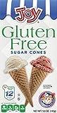 Joy Gluten-Free Sugar Ice Cream Cones, 5