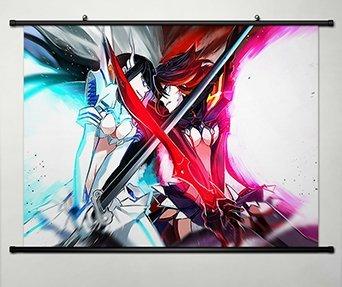 Wall Scroll Poster Fabric Painting For Anime Kill La Kill Sa