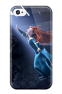 New Fashion Premium Tpu Case Cover For Iphone 4/4s - Brave 25