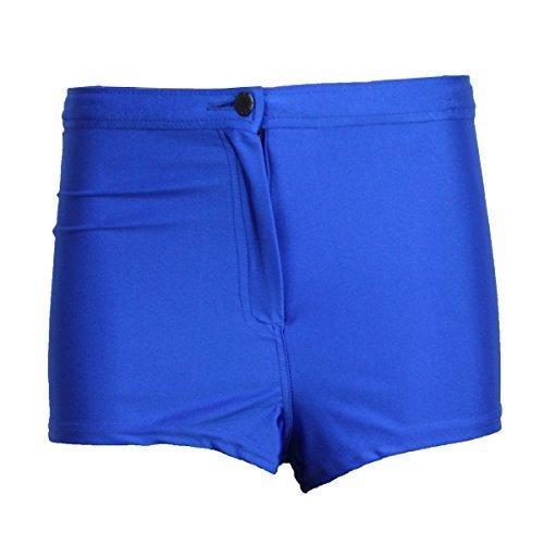 Pantaloncini NSHINE Bottoni Donna Lucido Bagnato Shorts 14 Con Raso Hot Elettrico Moda Elasticizzato Ladies Effetto xOEvqqp
